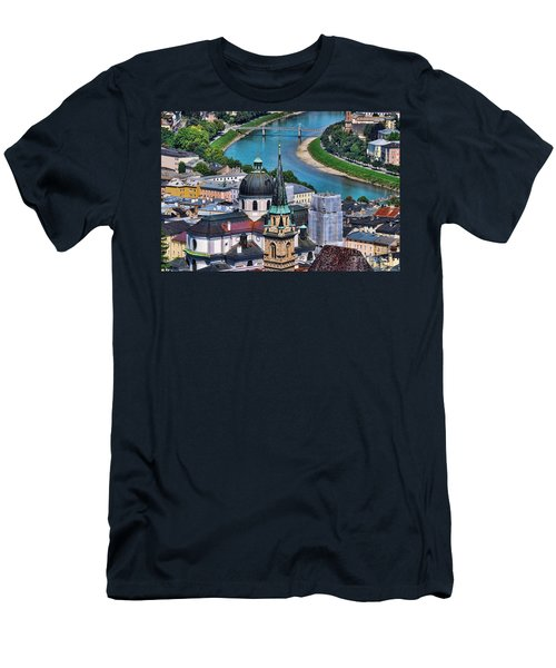 Salzburg Austria Europe Men's T-Shirt (Athletic Fit)