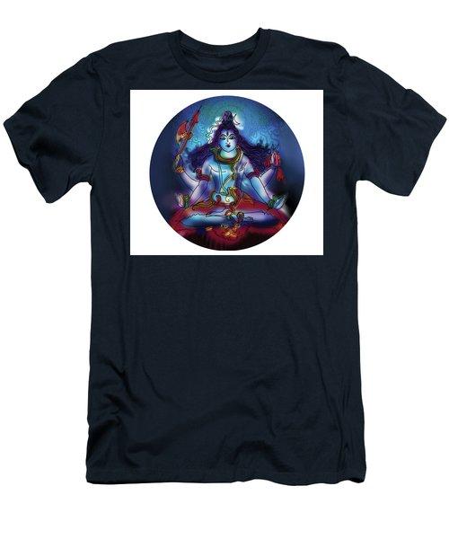 Samadhi Shiva Men's T-Shirt (Athletic Fit)