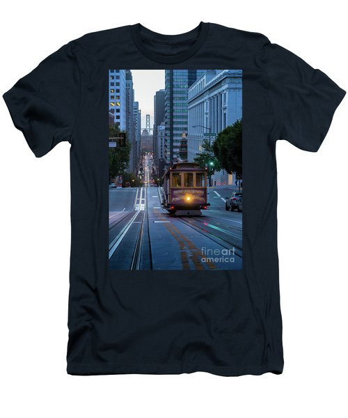 San Francisco Morning Commute Men's T-Shirt (Athletic Fit)
