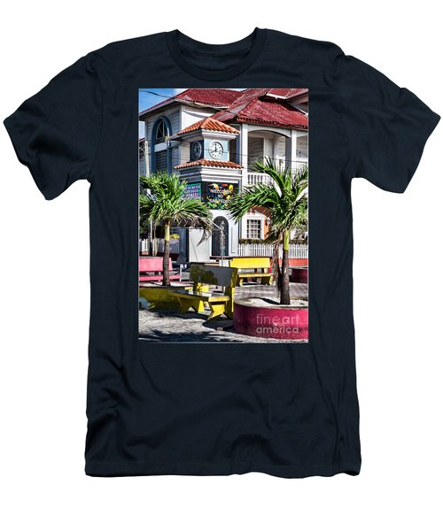 San Pedro Town Plaza Men's T-Shirt (Slim Fit)