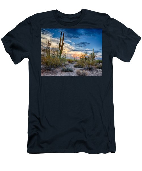 San Tan Mountain Park Sunset Men's T-Shirt (Athletic Fit)