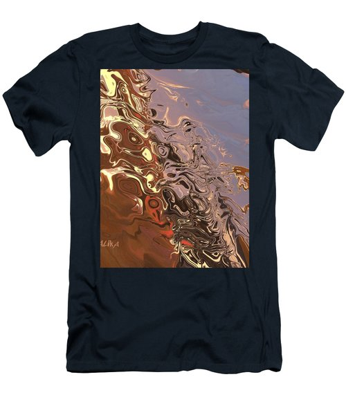 Sand Bank Men's T-Shirt (Athletic Fit)