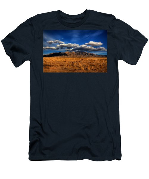 Sandia Crest In Late Afternoon Light Men's T-Shirt (Athletic Fit)