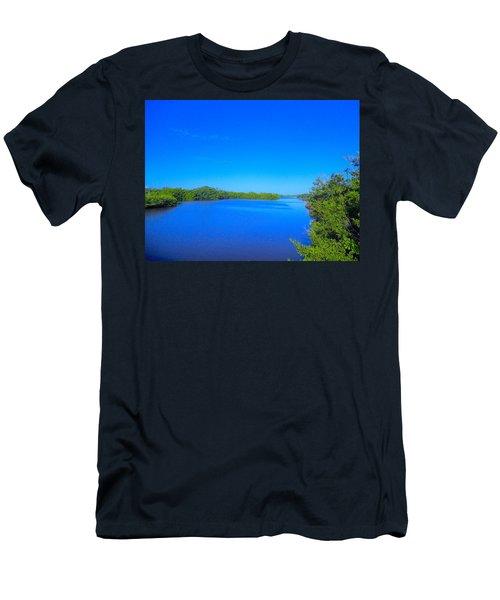 Sanibel Island, Florida Men's T-Shirt (Athletic Fit)