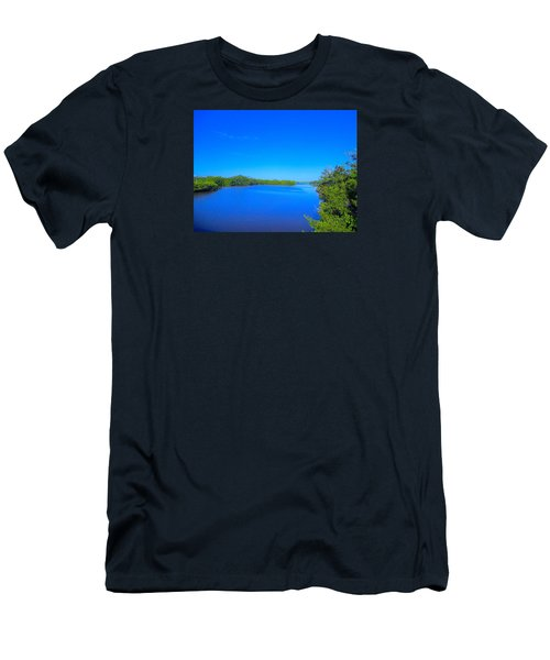 Sanibel Island, Florida Men's T-Shirt (Athletic Fit)