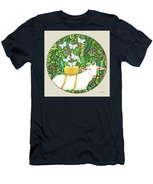 Scapegoat Button Men's T-Shirt (Athletic Fit)