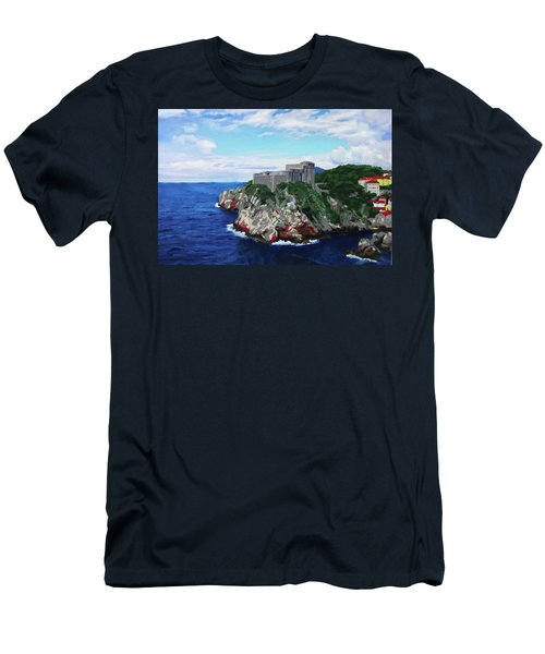 Scene From The Sea Men's T-Shirt (Athletic Fit)