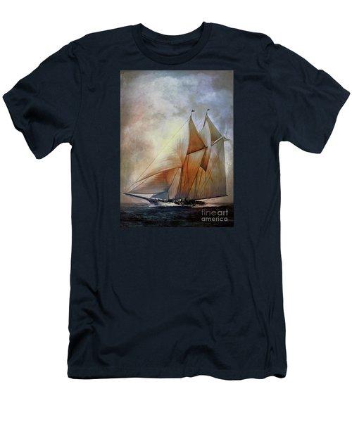 Schooner America In 1910.   Men's T-Shirt (Athletic Fit)
