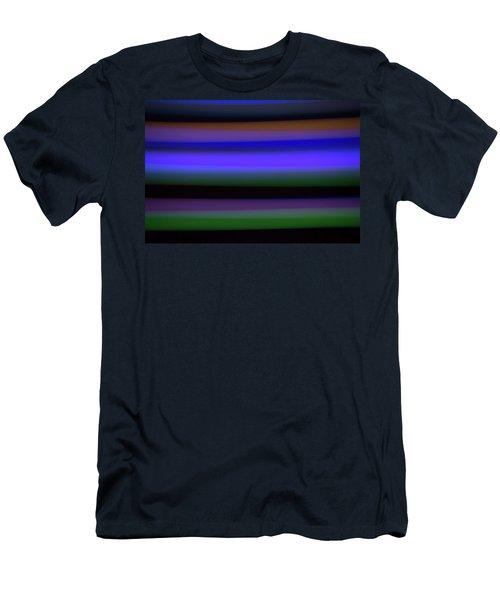 Sea Stripes Men's T-Shirt (Athletic Fit)