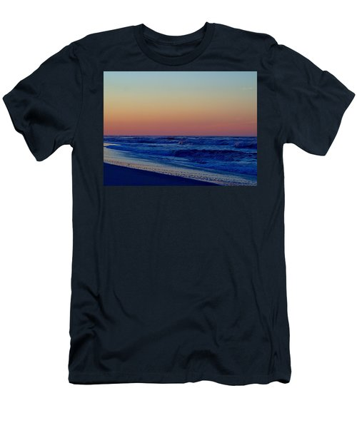 Men's T-Shirt (Slim Fit) featuring the photograph Sea View by  Newwwman