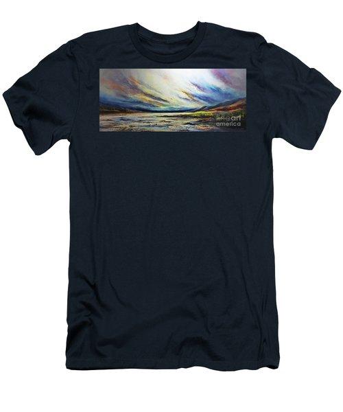Seaside Men's T-Shirt (Slim Fit) by AmaS Art