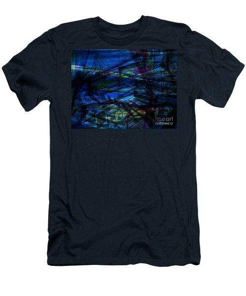 Seaweed And Other Creatures Men's T-Shirt (Athletic Fit)