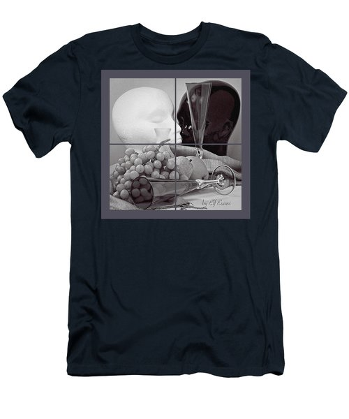 Men's T-Shirt (Athletic Fit) featuring the photograph Sections by Elf Evans