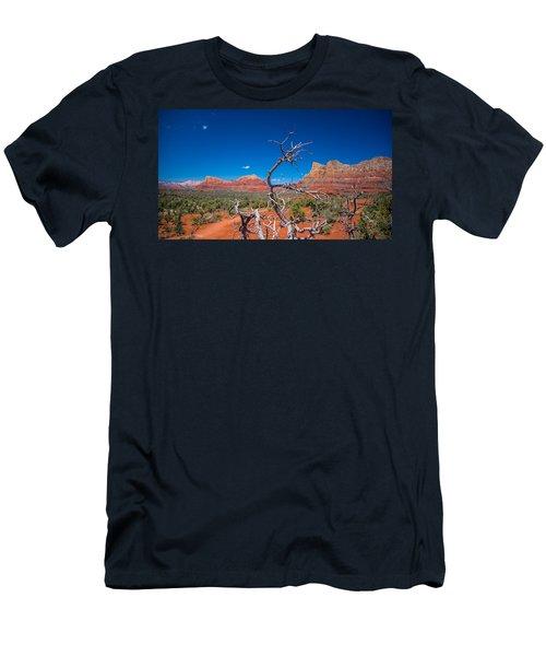 Sedona Blue Men's T-Shirt (Athletic Fit)