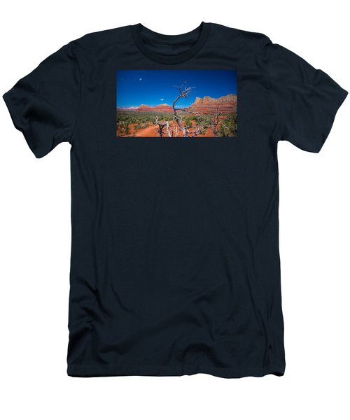 Sedona Blue Men's T-Shirt (Athletic Fit)
