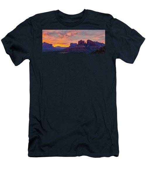 Sedona Sunrise Men's T-Shirt (Athletic Fit)