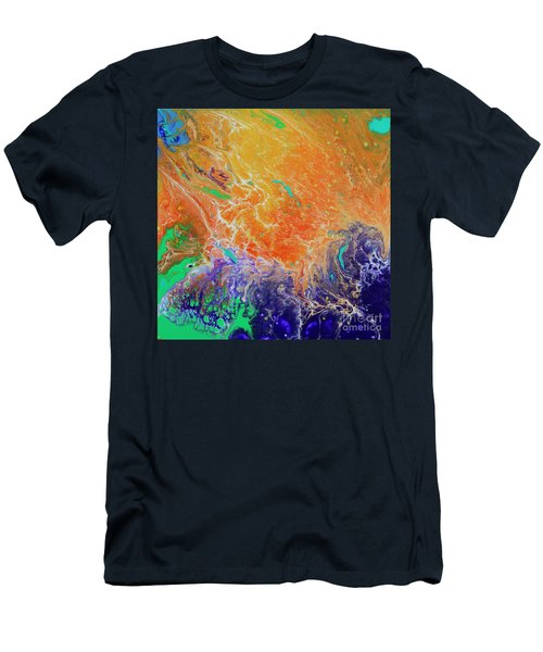 Deep Space Impressions 1 Men's T-Shirt (Athletic Fit)