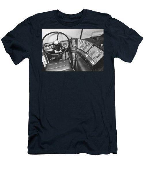 Semi-trailer Cab Interior Men's T-Shirt (Athletic Fit)