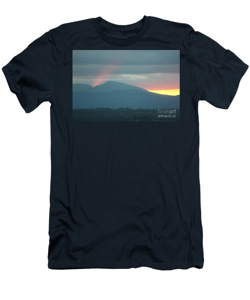 Men's T-Shirt (Slim Fit) featuring the photograph Sendoff by Brian Boyle