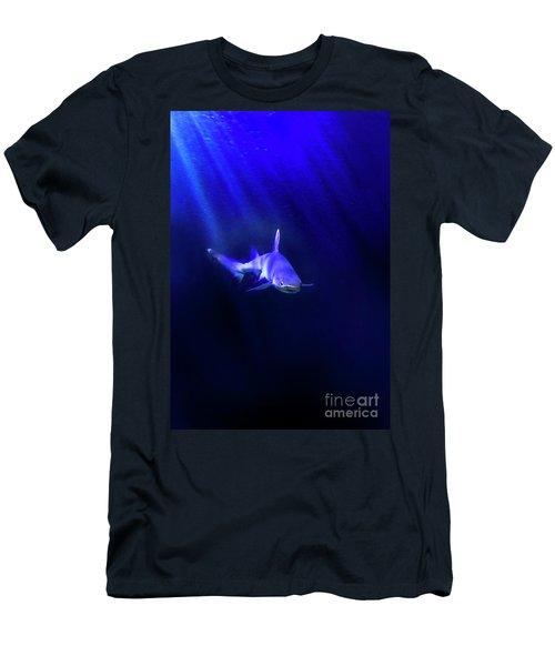 Men's T-Shirt (Slim Fit) featuring the photograph Shark by Jill Battaglia