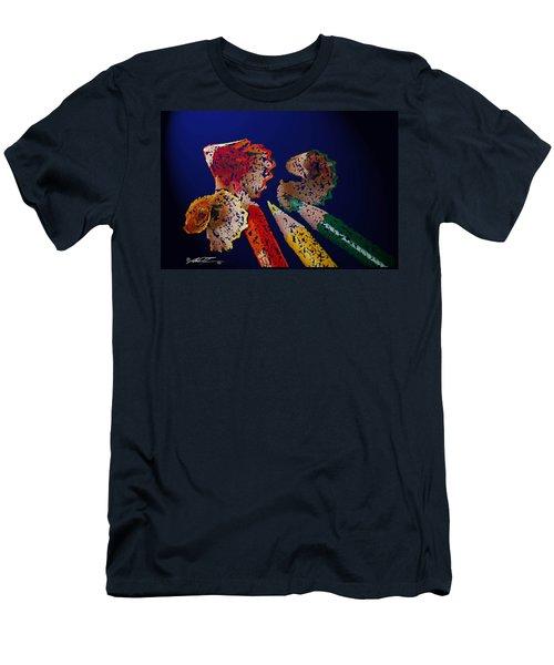 Sharp Pencils Men's T-Shirt (Athletic Fit)