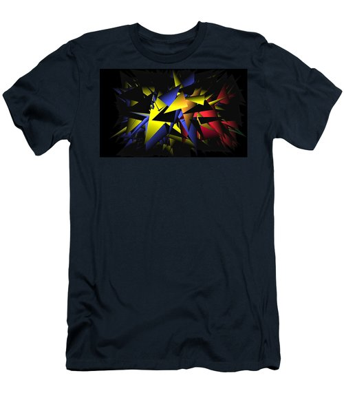 Shattering World Men's T-Shirt (Athletic Fit)