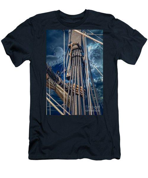 Ships Mast Men's T-Shirt (Athletic Fit)