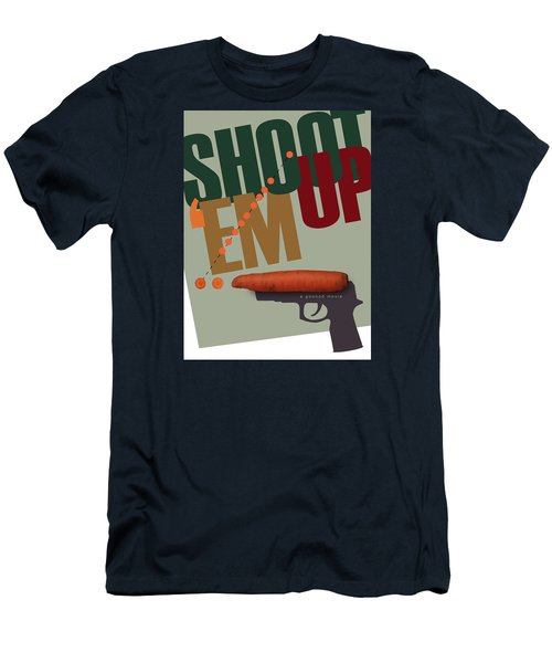 Shoot 'em Up Movie Poster Men's T-Shirt (Athletic Fit)