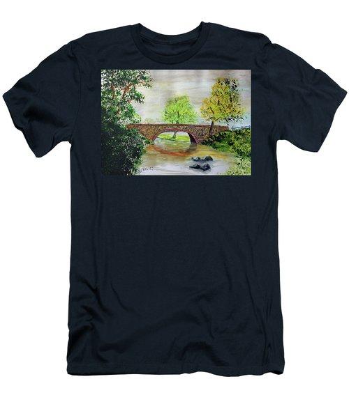 Shortcut Bridge Men's T-Shirt (Athletic Fit)