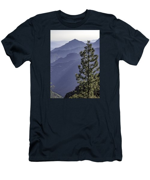 Men's T-Shirt (Slim Fit) featuring the photograph Sierra Nevada Foothills by Steven Sparks