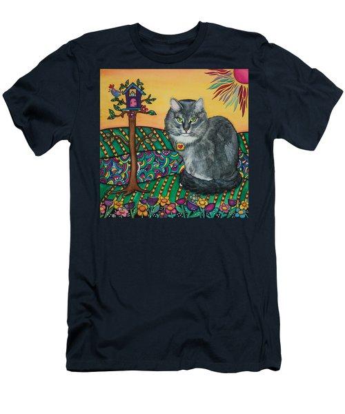 Sierra The Beloved Cat Men's T-Shirt (Athletic Fit)
