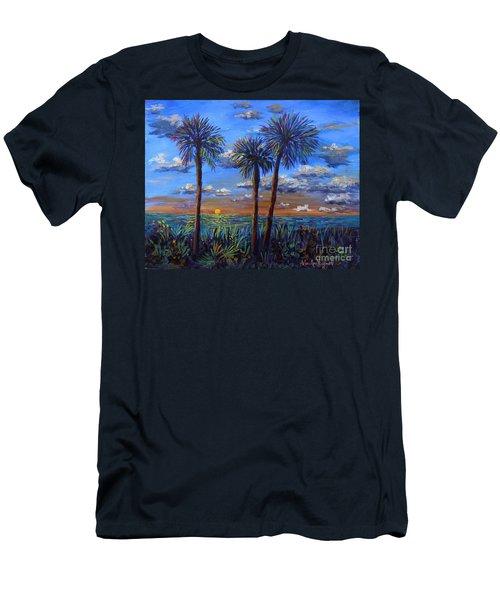 Siesta Summer Sunset Men's T-Shirt (Athletic Fit)