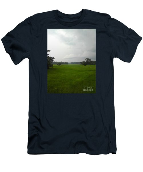 Men's T-Shirt (Slim Fit) featuring the photograph Simple Green by Rushan Ruzaick