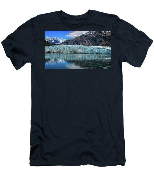 Size Perspective No Margerie Glacier Men's T-Shirt (Athletic Fit)