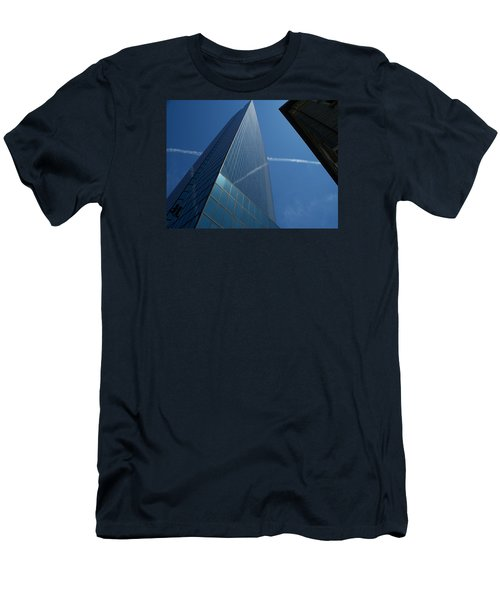 Sky Lines  Men's T-Shirt (Athletic Fit)