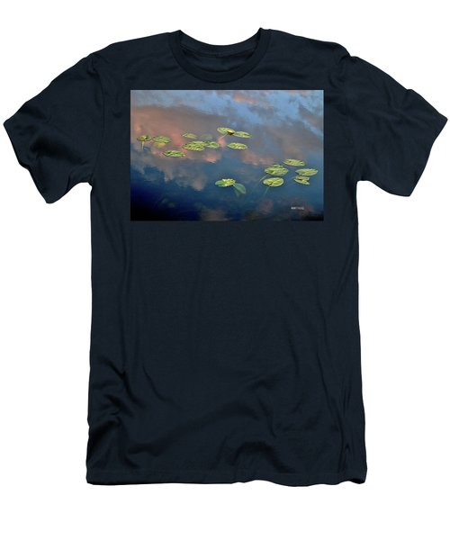 Sky Meets Water Men's T-Shirt (Athletic Fit)