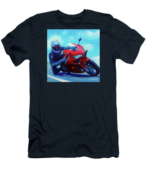 Sky Pilot - Honda Cbr600 Men's T-Shirt (Athletic Fit)