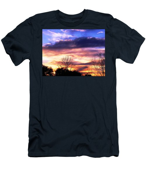 Sky Study 8 3/11/16 Men's T-Shirt (Athletic Fit)