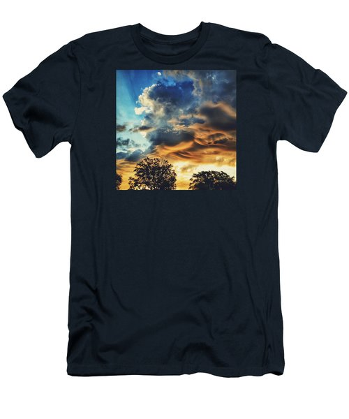 Men's T-Shirt (Slim Fit) featuring the photograph Sky Surf by Nikki McInnes