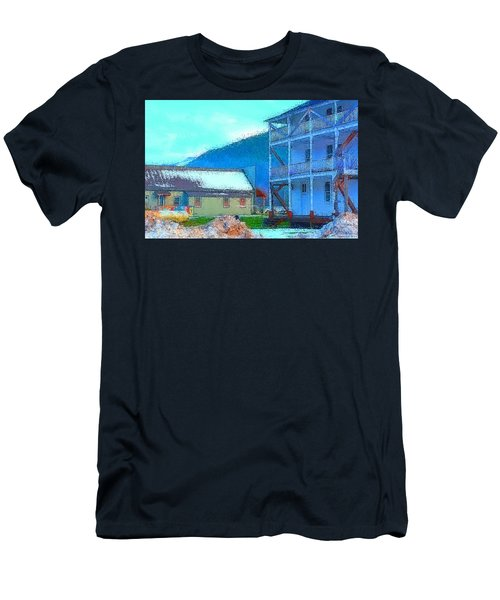 Skykomish  Men's T-Shirt (Slim Fit) by Tobeimean Peter