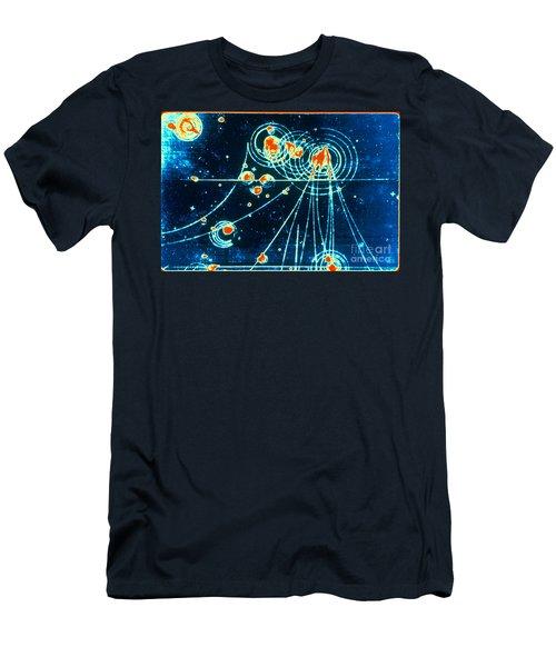 Slac Bubble Chamber Men's T-Shirt (Athletic Fit)