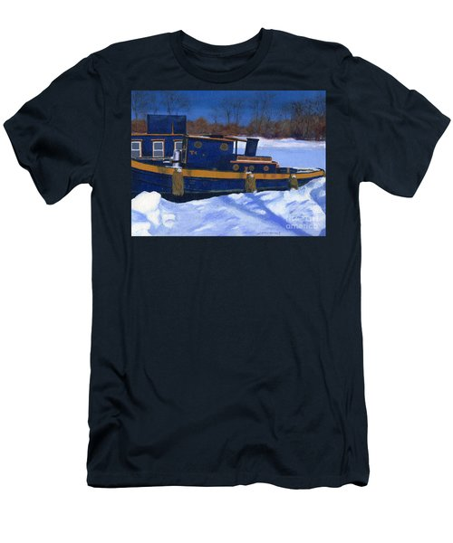 Sleeping Barge Men's T-Shirt (Athletic Fit)