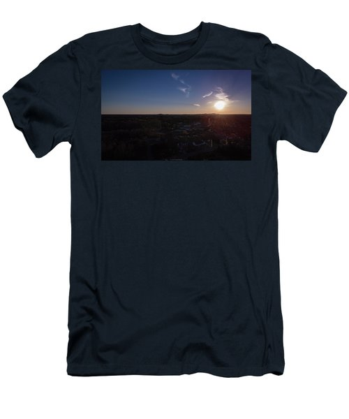 Small Town Sun Men's T-Shirt (Athletic Fit)