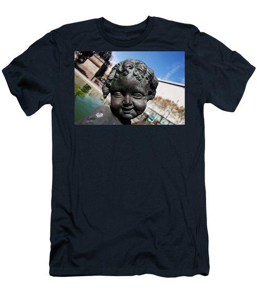 Smiling Cherub Men's T-Shirt (Athletic Fit)
