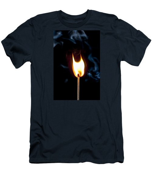 Smoke And Fire Men's T-Shirt (Athletic Fit)