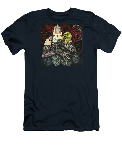 Smoke And Lace Men's T-Shirt (Slim Fit) by Yelena Tylkina