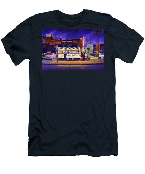 Snack Wagon Men's T-Shirt (Athletic Fit)