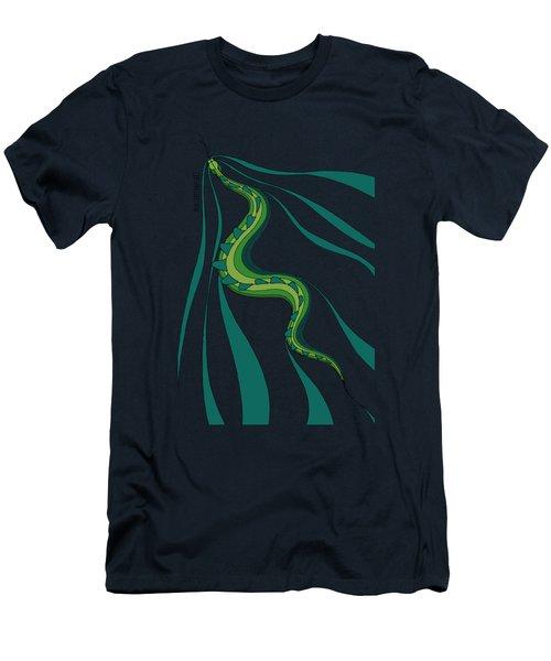 snakEVOLUTION I Men's T-Shirt (Athletic Fit)