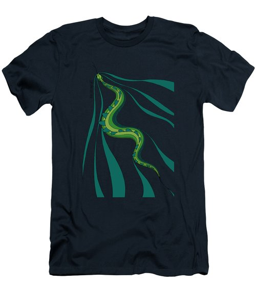 snakEVOLUTION I Men's T-Shirt (Athletic Fit)