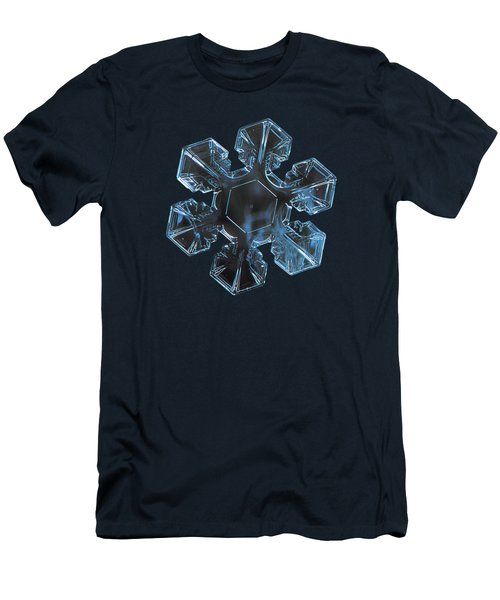 Snowflake Photo - The Core 2 Men's T-Shirt (Athletic Fit)